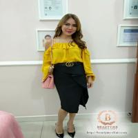 Stylo of The Day, Gaya Feminin Playful ala Dokter Luciana Hendrawan