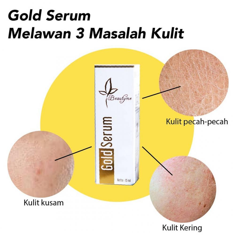 Gold Serum Kulit Wajah